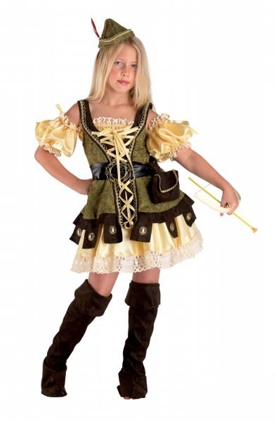Robina Hood Kostüm Diebinkostüm Gesetzlose Karnevalskostüm