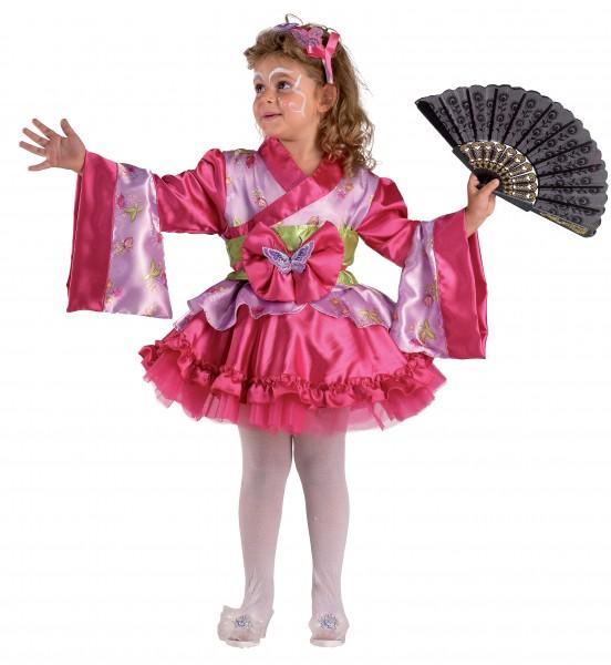 Geishakostüm Kimonokostüm Kleine Geisha Kindergeisha