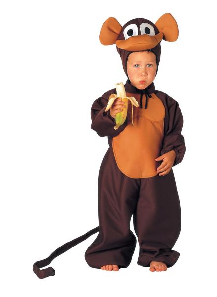 Affenkostüm Monkeykostüm Kinderaffenkostüm