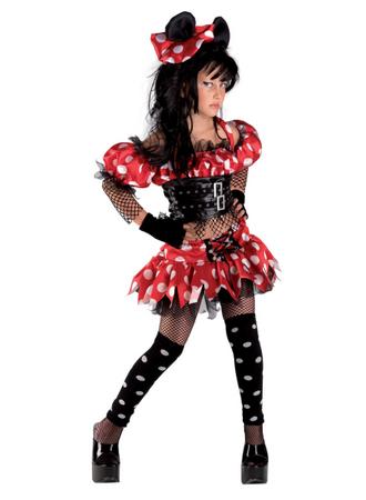 Punkermauskostüm Mauskostüm Funkymaus Girliekostüm Punkerkostüm