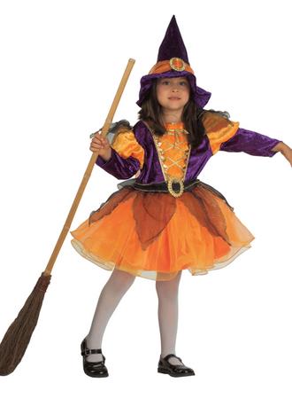 Zauberinkostüm Hexenkostüm Halloweenkostüm