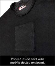 Schlagendes Zombieherz Digital T-Shirt App T-Shirt DigitalDudz T-Shirt – Bild 4