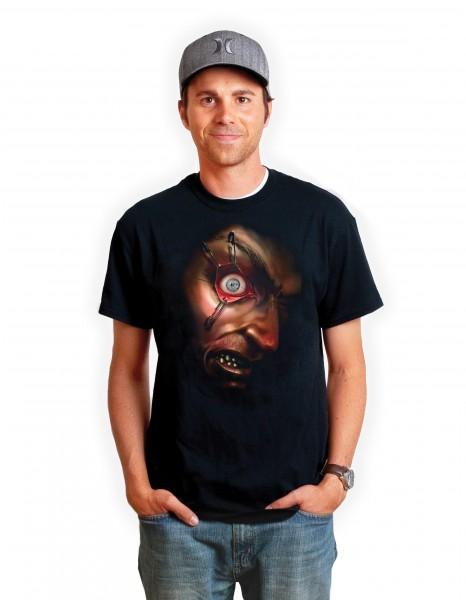 Bewegliches Auge Digital T-Shirt App T-Shirt DigitalDudz Moving Eyeball