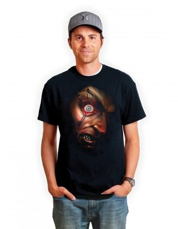 Bewegliches Auge Digital T-Shirt App T-Shirt DigitalDudz Moving Eyeball