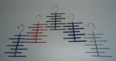 KESPER Krawattenhalter, Krawattenständer, Krawattenbügel für 21 Krawatten – Bild 1