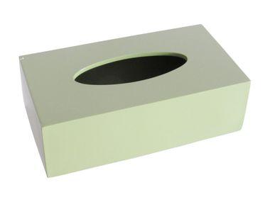 Tissuebox Cosy oliv Tücherbox Kosmetiktücherbox  – Bild 2