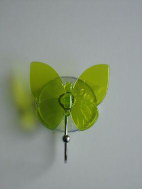 Wandhaken Schmetterling 6 Farben Saugnäpfen befestigt - kein Bohren, kein Kleben – Bild 5