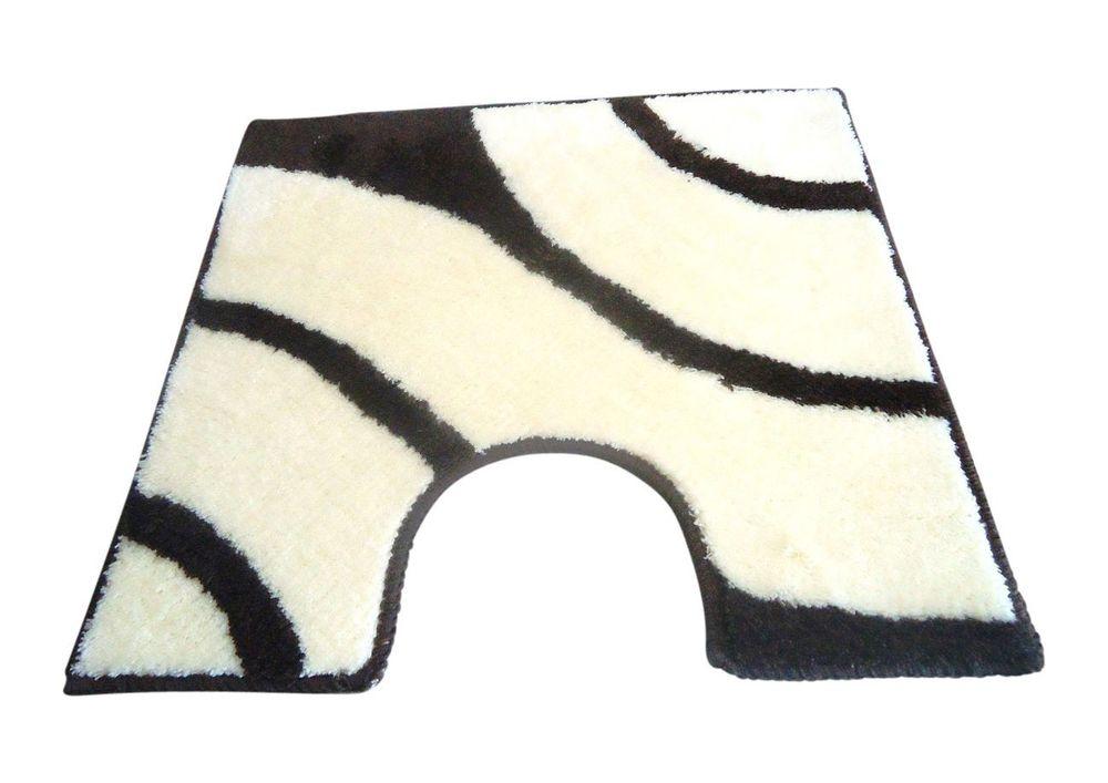wc vorleger rondo schoko jasmin 60x60cm mit ausschnitt von batex bad badteppiche wc vorleger mit. Black Bedroom Furniture Sets. Home Design Ideas