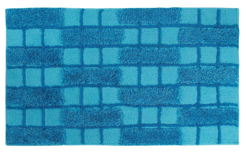 badteppich dalia t rkis 70x120cm von sanwood bad badteppiche badematte 3126. Black Bedroom Furniture Sets. Home Design Ideas