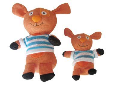 Baby Stricktiere 2er Set Hasen Schmusetier von Haberkorn