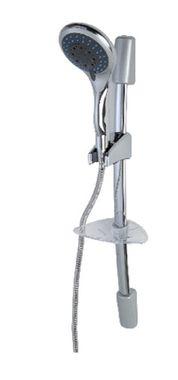 FERIDRAS Duschbrause mit Duschstange und integrierter Seifenablage 017027