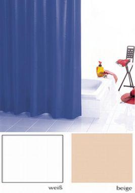 Duschvorhang PUR Farbe: beige  BxH 120x200cm  – Bild 1