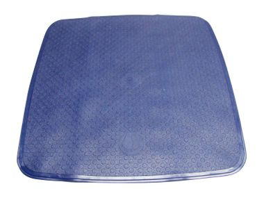 Duscheinlage blau 54x54 cm