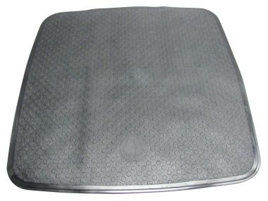 Duscheinlage schwarz 54x54cm