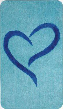 Badteppich Gracia  blau-mint 70x120cm von Sanwood