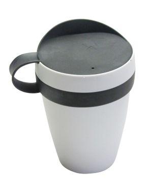 HELIT  Kaffeebecher Coffee Cup To Go Becher, Kaffeebecher 0,3 Liter schwarz  – Bild 1