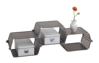 Haushaltsregal Steckregalsystem Honey 3er Set von WENKO