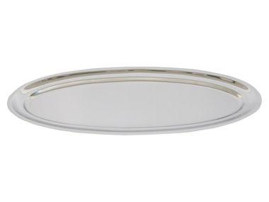 APS 133624 Fisch-/Bankettplatte 80 x 31 cm, H: 2 cm  18/10 Edelstahl hochglanzpoliert   – Bild 1