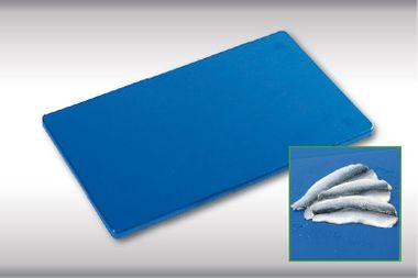 PE-Kunststoff-Schneidebrett GN 1/2 in blau 50 mm stark  – Bild 2