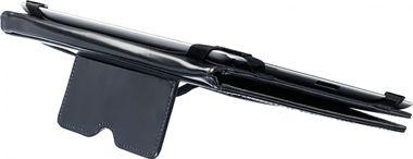 Tablet-Hülle Schutzhülle Etui Tasche Diplomat Luxus Ledertasche schwarz – Bild 3