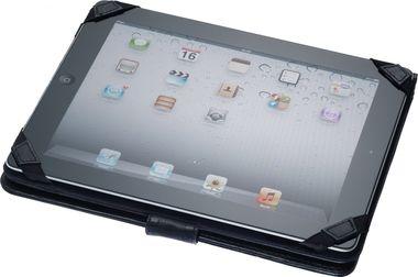 Tablet-Hülle Schutzhülle Etui Tasche Diplomat Luxus Ledertasche schwarz – Bild 4