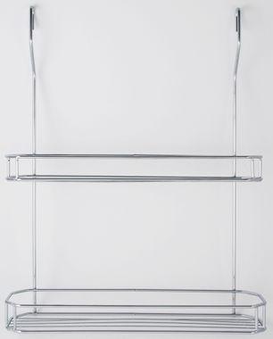 Hängekorb 2 Etagen 35 x 43 x 9 cm Relingsystem