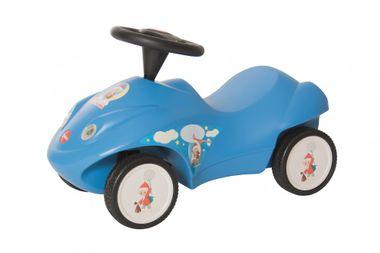Sandmännchen-Rutscher / Baby-Rutscher himmelblau mit Sandmännchen-Motiv von FERBEDO Rutsche-Auto
