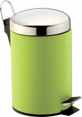Treteimer Kosmetikeimer 3 Liter von SANWOOD Farbe: grün