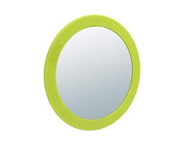 Aufsatzspiegel NELLY von SANWOOD 5-fache Vergrößerung Farbe: grün Kosmetikspiegel Schminkspiegel  – Bild 1