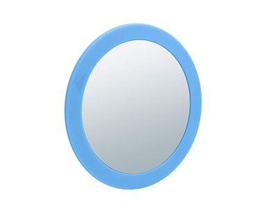 Aufsatzspiegel NELLY von SANWOOD 5-fache Vergrößerung Farbe: aqua Kosmetikspiegel Schminkspiegel  – Bild 1