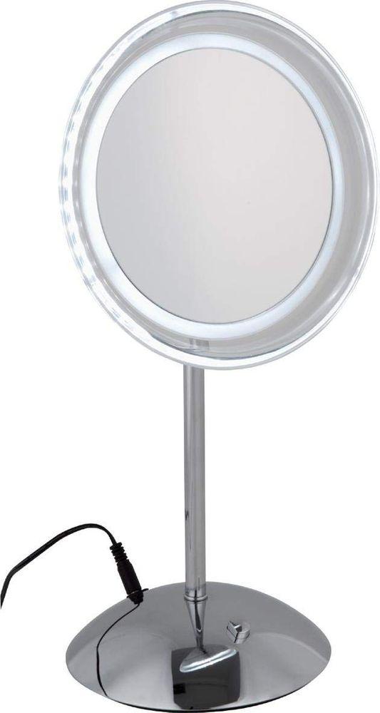 standspiegel modell luna von sanwood mit led beleuchtung. Black Bedroom Furniture Sets. Home Design Ideas