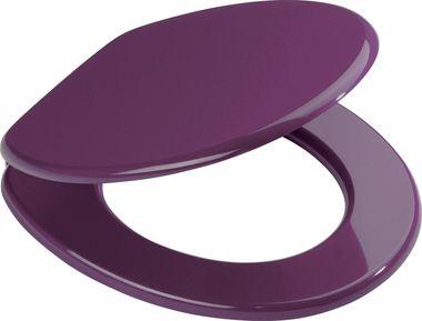 WC-Sitz Aruba lilaToilettenbrille Toilettensitz Klobrille Klodeckel WC-Brille Klo-Sitz