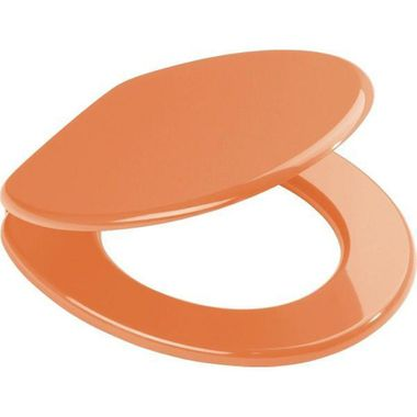 WC-Sitz Aruba orange Toilettenbrille Toilettensitz Klobrille Klodeckel WC-Brille Klo-Sitz