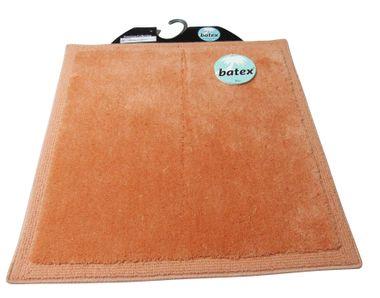Batex Badteppich  WC-Vorleger  Silencio apricot ca.60X60cm