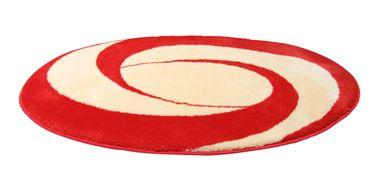 Clarissa  Badteppich Candy orange vanille ca. 60x100 cm – Bild 1