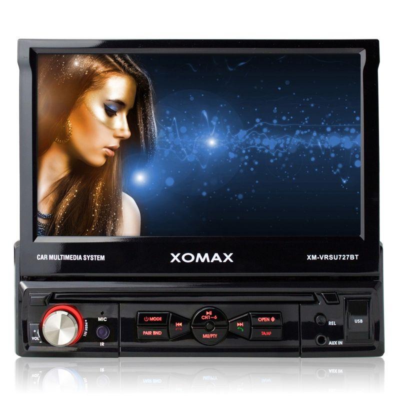 XOMAX XM-VRSU727BT Moniceiver Autoradio ohne CD-Laufwerk mit BLUETOOTH – Bild 2