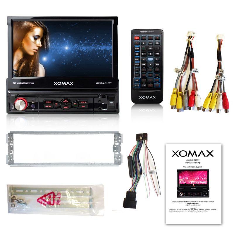 XOMAX XM-VRSU727BT Moniceiver Autoradio ohne CD-Laufwerk mit BLUETOOTH – Bild 6