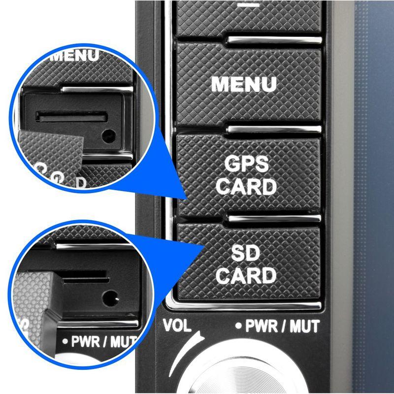 """XOMAX XM-2DTSBN6216 15,7cm/6,2"""" Naviceiver Autoradio mit DVD-Laufwerk und BLUETOOTH – Bild 3"""