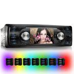 XOMAX XM-VRSU311BT 1 DIN Moniceiver Autoradio ohne CD-Laufwerk mit BLUETOOTH 001