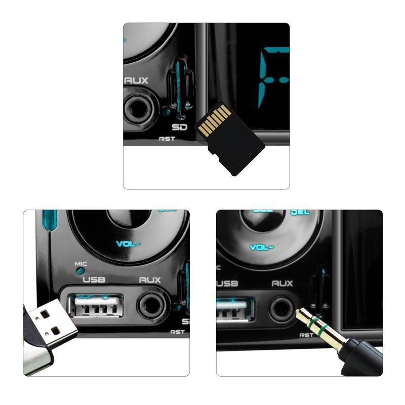 XOMAX XM-VRSU413BT 1 DIN Moniceiver Autoradio ohne CD-Laufwerk mit BLUETOOTH (B-Ware) – Bild 3