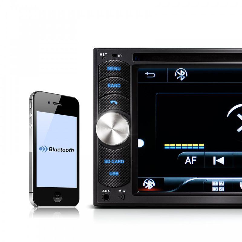 "XOMAX XM-2DTSB6217 16cm/6,2"" DVD-Moniceiver Autoradio BLUETOOTH – Bild 6"