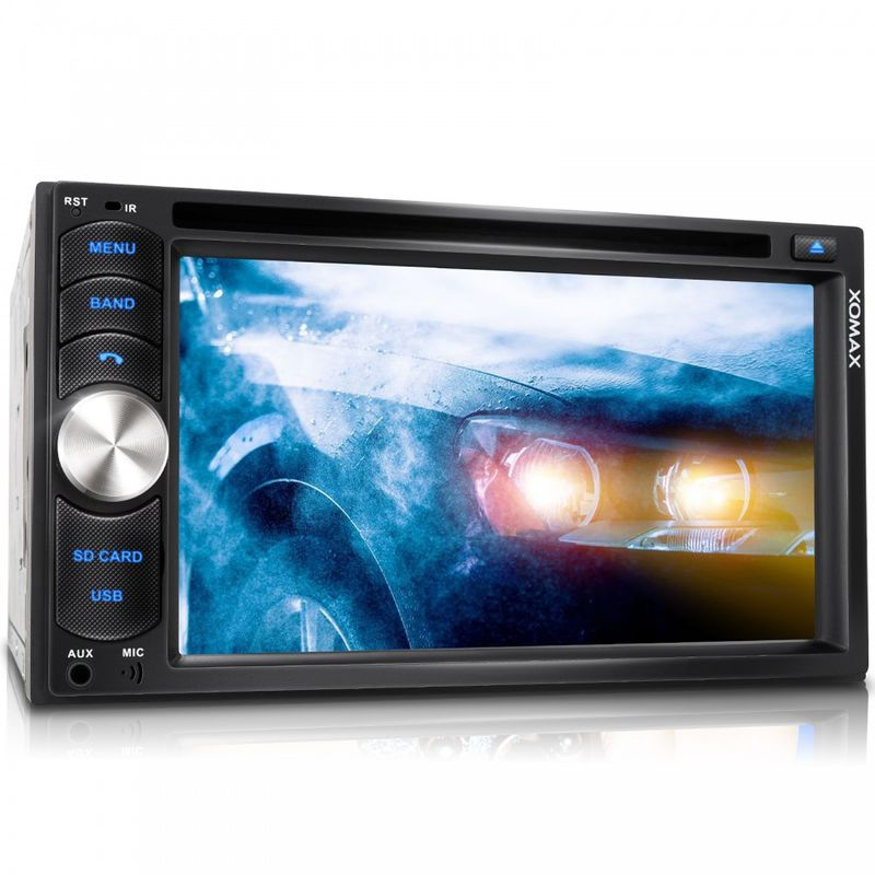 "XOMAX XM-2DTSB6217 16cm/6,2"" DVD-Moniceiver Autoradio BLUETOOTH (B-Ware)"