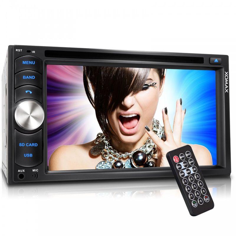 "XOMAX XM-2DTSB6217 16cm/6,2"" DVD-Moniceiver Autoradio BLUETOOTH (B-Ware) – Bild 8"