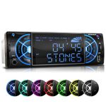 XOMAX XM-RSU234 FlashXO USB SD Autoradio ohne CD-Laufwerk mit 7 Beleuchtungsfarben (B-Ware) v2 001