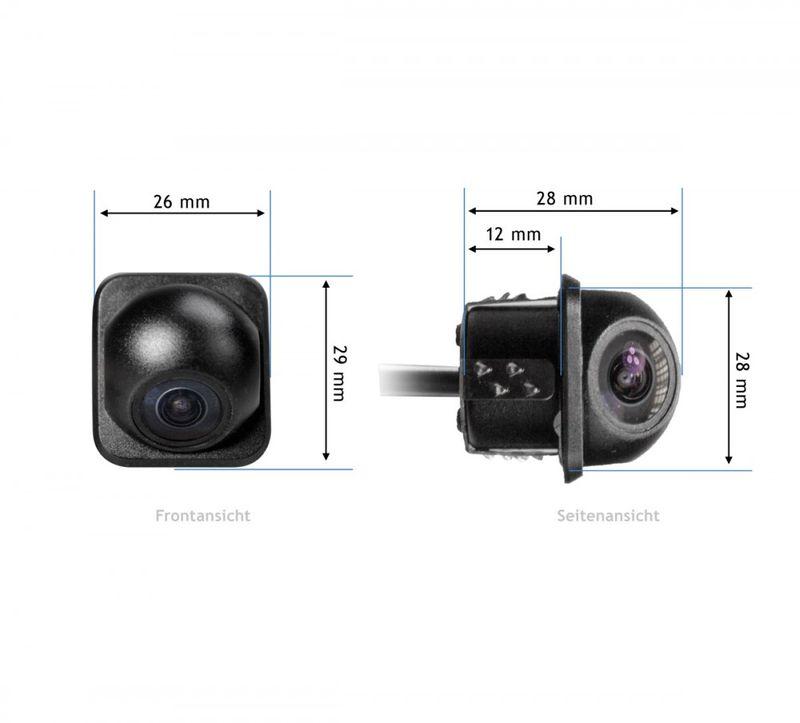 XOMAX XM-KL001 Rückfahrkamera-Set/Funk-Videotransmitter + XM-012 Micro FARB-Rückfahrkamera - Weitwinkel 170° XM-012 - SET  – Bild 7