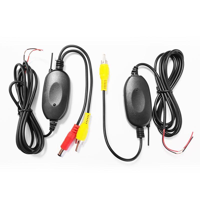 XOMAX XM-KL001 Rückfahrkamera-Set/Funk-Videotransmitter + XM-012 Micro FARB-Rückfahrkamera - Weitwinkel 170° XM-012 - SET  – Bild 2