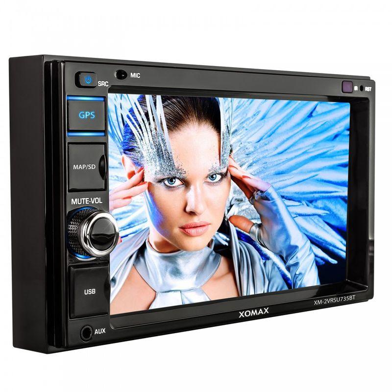 """XOMAX XM-2VRSUN735BT 16cm/6,2"""" Naviceiver Autoradio ohne CD-Laufwerk mit Bluetooth (B-Ware) – Bild 5"""