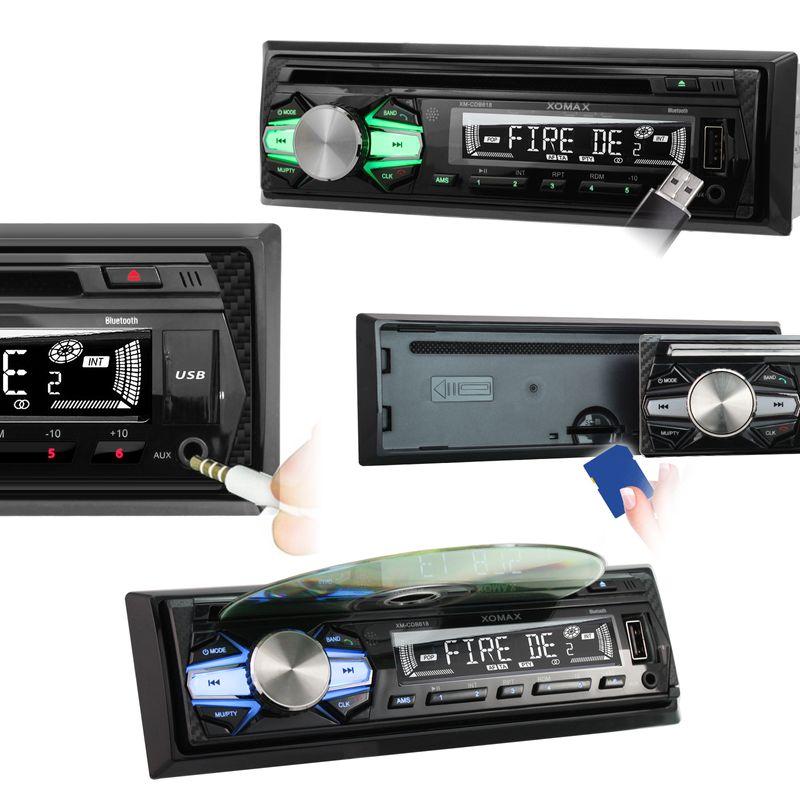 XOMAX XM-CDB618 CD Autoradio mit USB und SD-Slot v2 – Bild 6