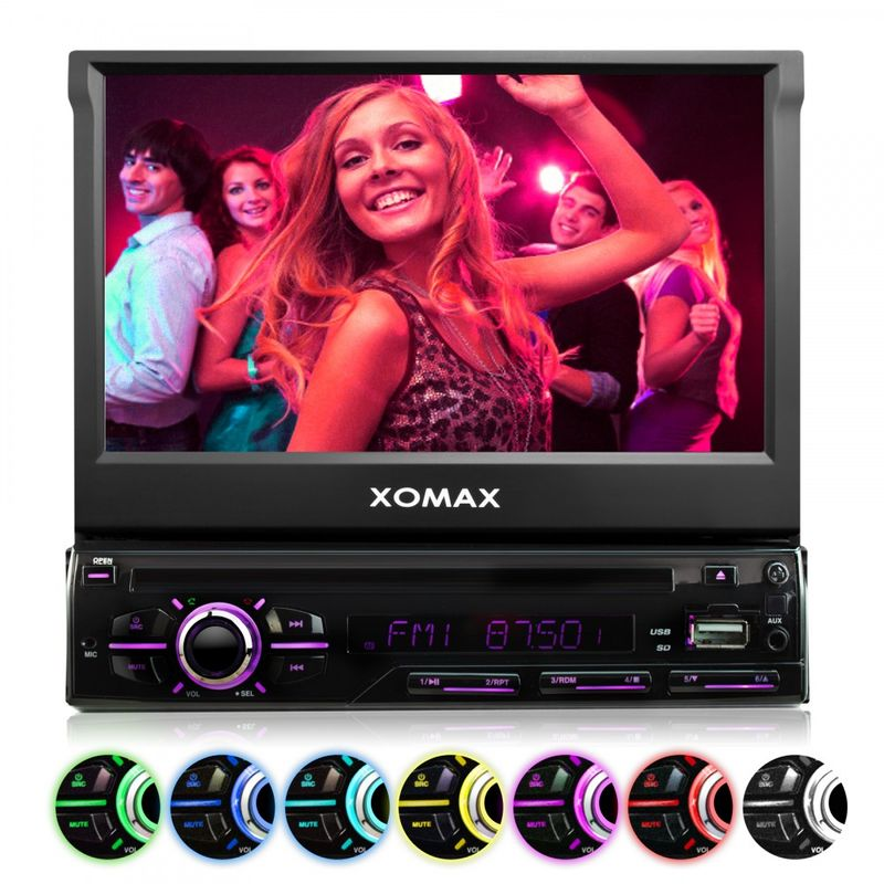 "XOMAX XM-DTSB928 L3 18cm/7"" DVD-Moniceiver USB SD BLUETOOTH – Bild 3"