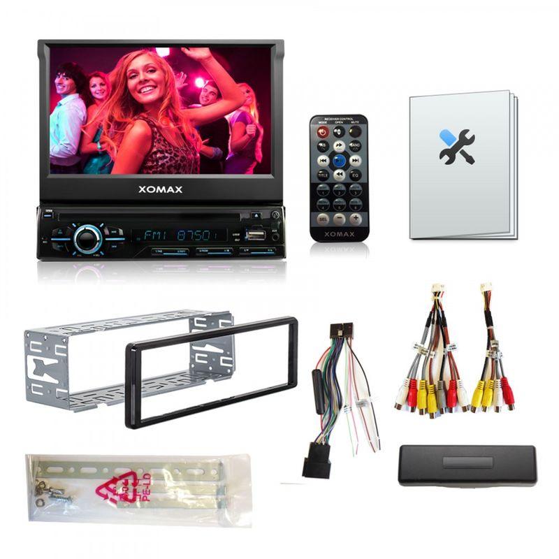 "XOMAX XM-DTSB928 18cm/7"" DVD-Moniceiver USB SD BLUETOOTH (B-Ware) – Bild 6"